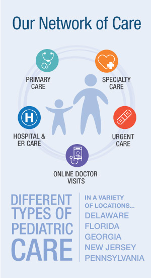 Nemours Children's Health System's Network of Care
