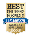 Named among best cardiac care in children's hospitals.