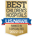 Hospital named among the best in the country by U.S. News & World Report.