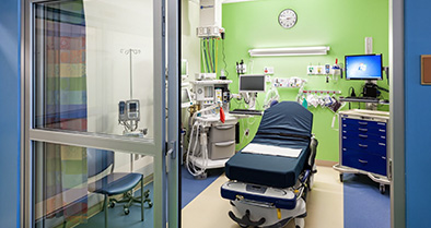 Our Bryn Mawr pediatric specialty care office features a surgery suite with private pre- and post-surgery rooms.