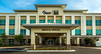 Our Fleming Island pediatric specialty care office is just off U.S. 17 and Village Square Parkway.
