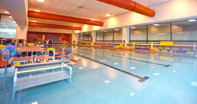 The therapy pool, part of outpatient therapy services