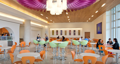 One of our amenities is our café inside the hospital