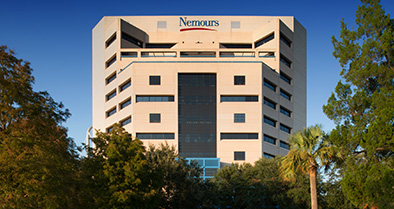 Nemours Children's Specialty Care building