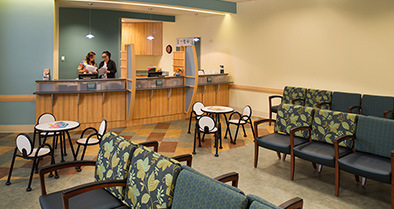 The inside of our Jacksonville South pediatric specialty care office is warm and welcoming.