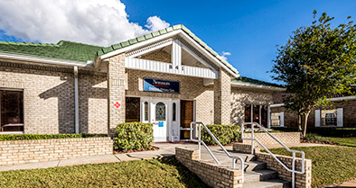 The exterior of our Kissimmee pediatrician's office at 841 E. Oak St.