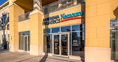 Our primary care pediatrics office is conveniently located in the Lavina Marketplace plaza.