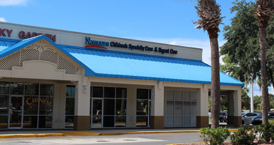 You can find great pediatric specialty care at our 1270 N. Wickham Road office in Melbourne.
