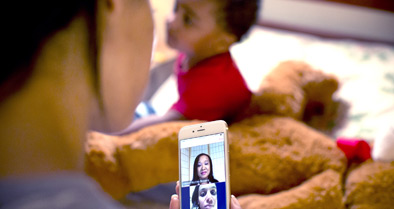 The Nemours CareConnect app allows you to see the doctor and the doctor to see your child on your mobile device.