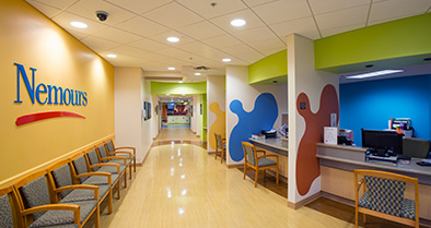 Our Orlando pediatric specialty care offices are bright and full of life.