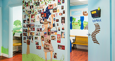 Our primary care pediatrician delivers expert care in a fun, bright space.