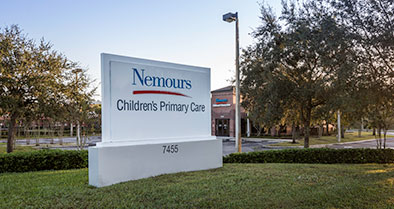 Our pediatric primary care office is located at 7455 Pinemire Drive.