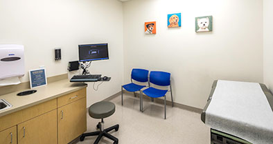Our Sanford pediatrician and staff will make you and your child feel right at home.