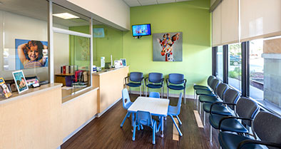 Our Sanford pediatrician's office is warm and welcoming to children and families.