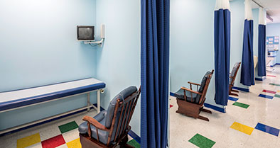 The pediatric urgent care staff is warm and caring.