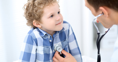 Nemours physician helps a young boy with a chest wall disorder.