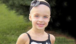 Savannah, a Nemours patient with Wills tumor
