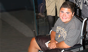 Liam, a Nemours patient with Duchenne muscular dystrophy