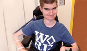 Matthew, a Nemours patient with Spinal Muscular Atrophy