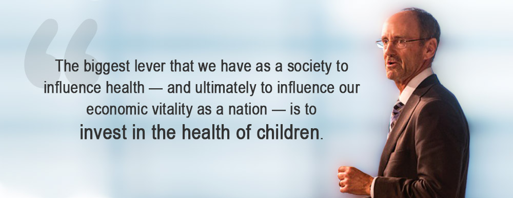 Dr. Moss addresses the social determinants of health in children