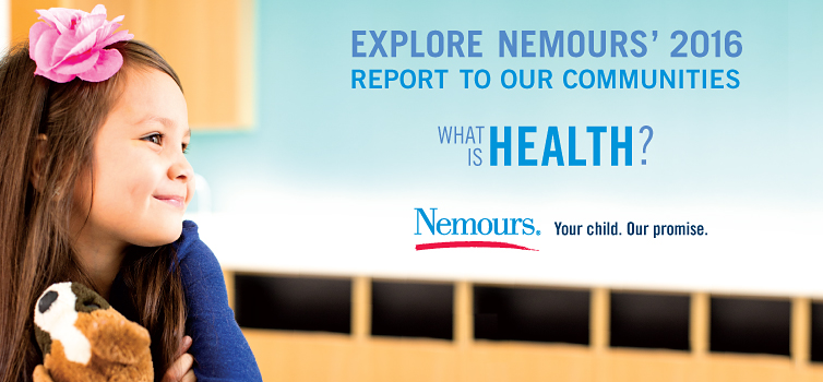 Nemours invested $193.8 million in services to benefit communities.