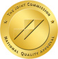Logo for Joint Commission Gold Seal of Approval for Quaility and Safety Accreditation