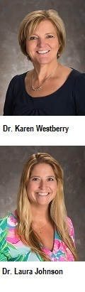 Dr. Laura Johnson and Dr. Karen Westberry