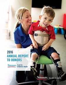 2016 Annual Report to Donors