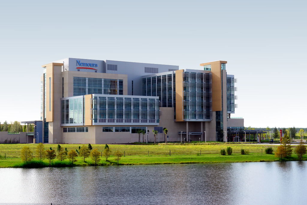 Nemours Children's Hospital building
