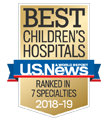 U.S.News & World Report Best Children's Hospitals: Ranked in 7 Specialties.