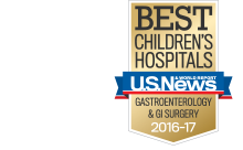 U.S. News & World Report Best Children's Hospitals: Gastroenterology & GI Surgery
