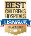 U.S. News & World Report Best Children's Hospitals: Pulmonology