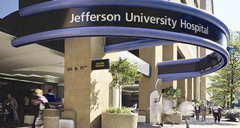Nemours collaborating hospital, Thomas Jefferson University Hospital