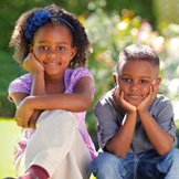 1 in 625 African-Americans are born with sickle cell anemia. Disease symptoms include paleness in the skin and lips.